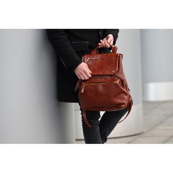 Кожаный рюкзак TR