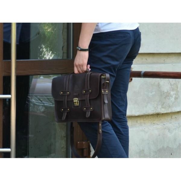 Кожаный портфель FL