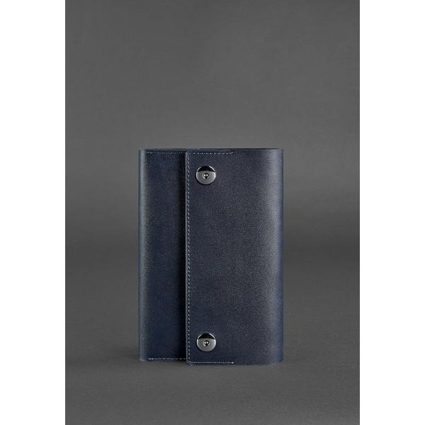 Органайзер с блокнотом синий