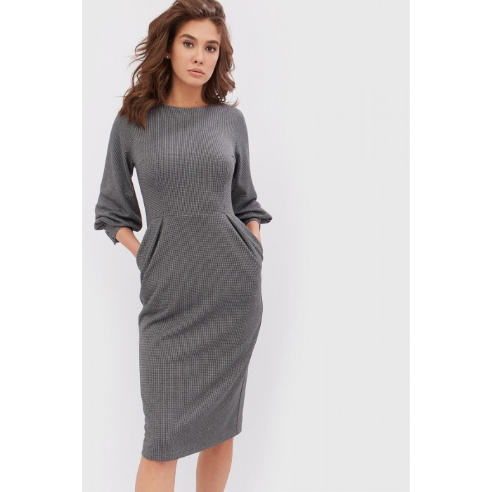 Зимова сукня сіра 0db4f6d3f4f6f