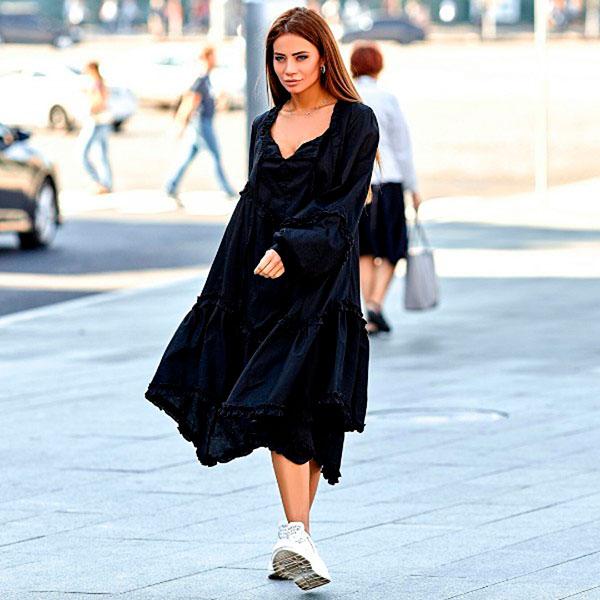 Женское платье оверсайз