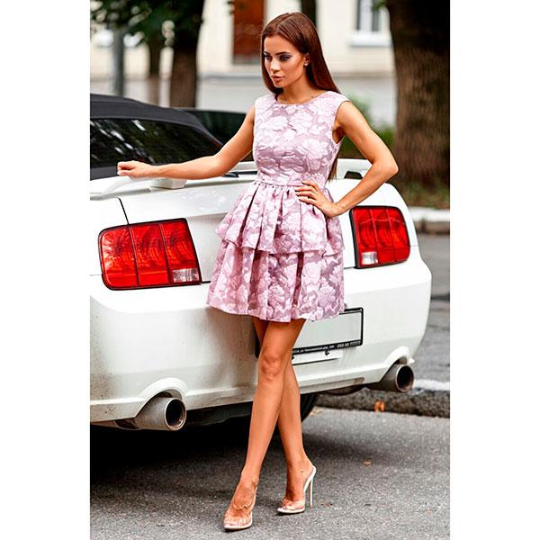 Платье Розовые розы