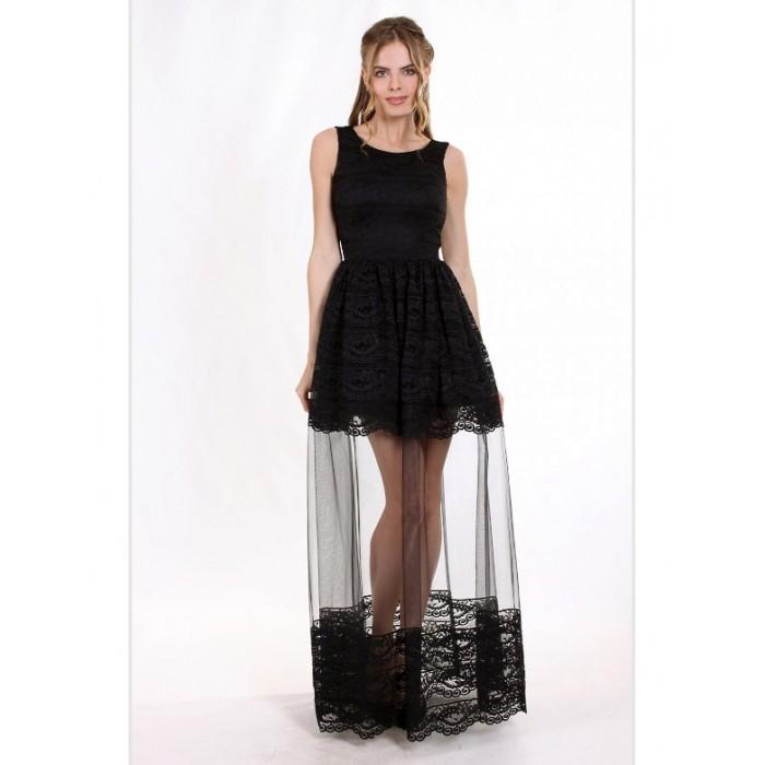 Sale Вечірня сукня з мереживом шантільї 18d347c5598e4