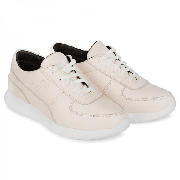 Женские кроссовки К1 бежевые
