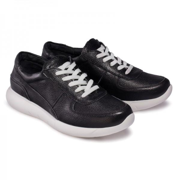 Женские кроссовки К1 черные