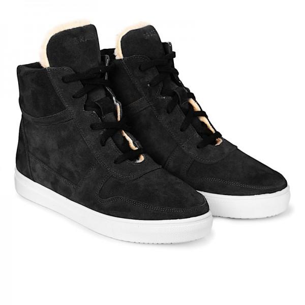 Высокие кроссовки SUEDE H2 темно-серые