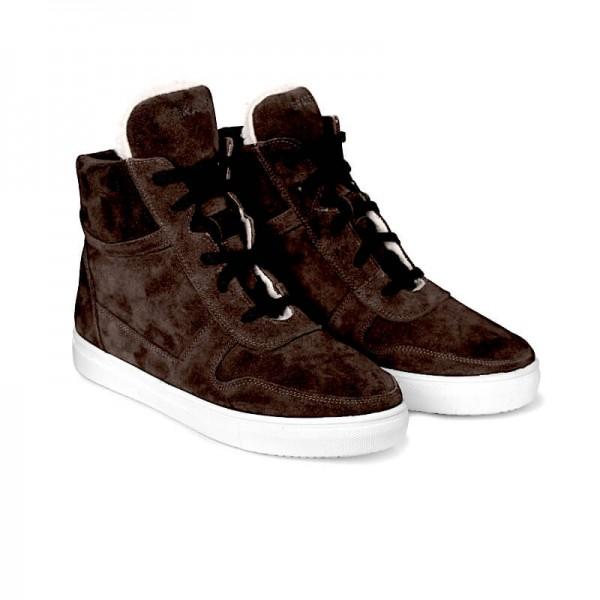 Высокие кроссовки SUEDE H2 коричневые