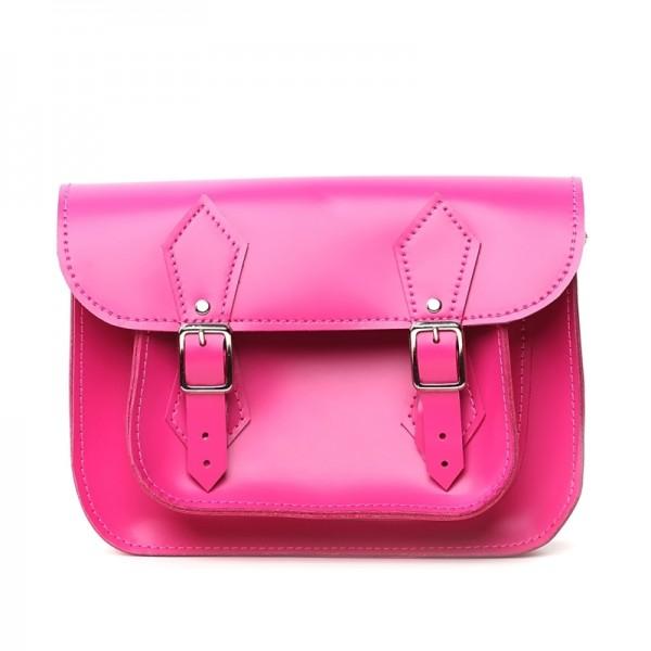Сумка сэтчел 9 розовая