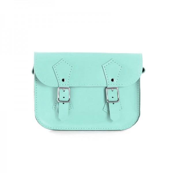 Женская сумка-портфель 5 мятная