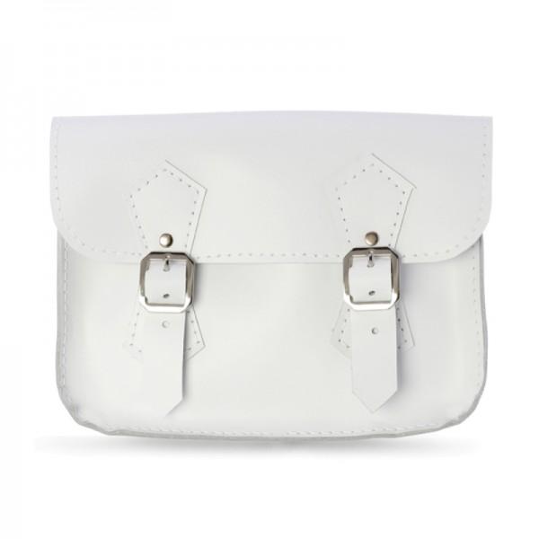 Женская сумка-портфель 5 белая