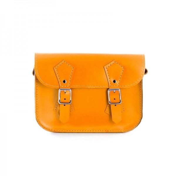 Женская сумка-портфель 5 рыжая