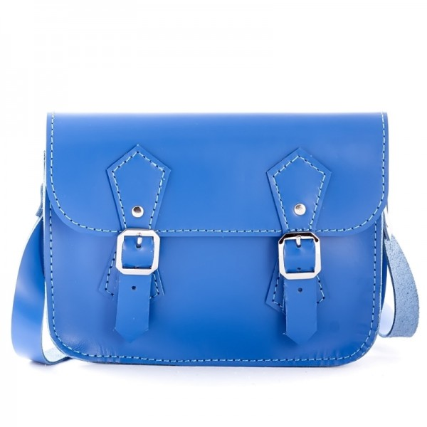 Женская сумка-портфель 5 синяя
