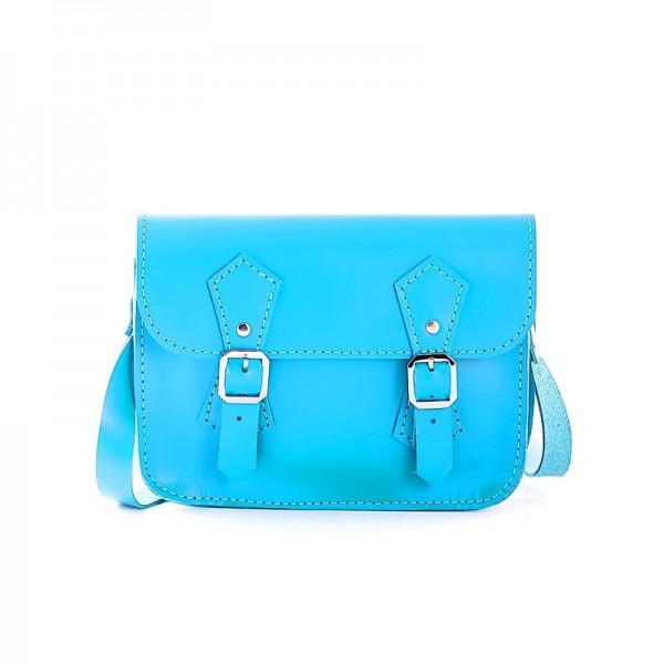 Женская сумка-портфель 5 голубая