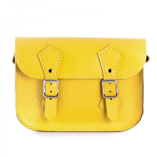 Женская сумка-портфель 5 желтая
