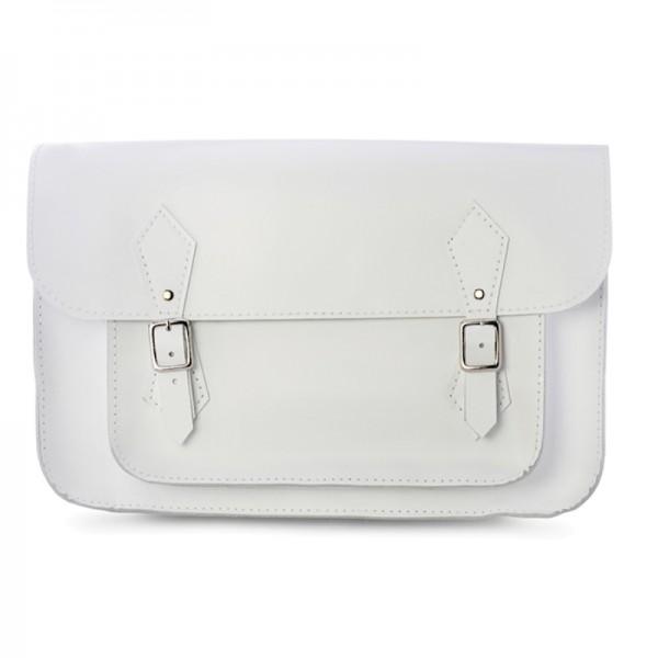 Женский портфель 14 белый