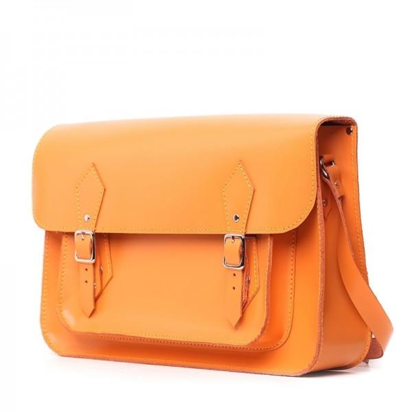 Женский портфель 14 рыжий