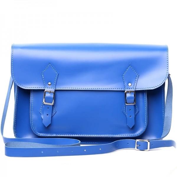Женский портфель 14 синий
