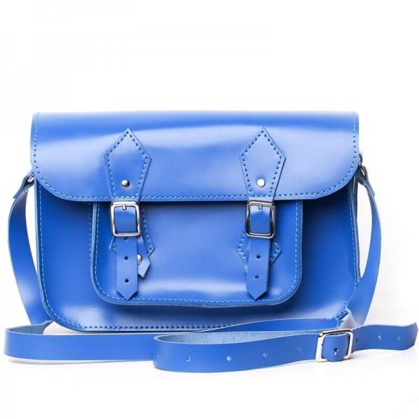 Портфель женский 11 синий