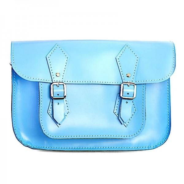 Портфель женский 11 голубой