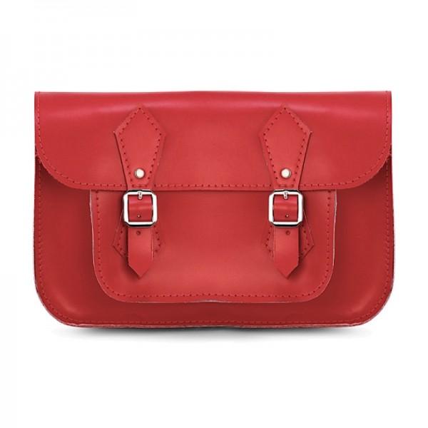 Портфель женский 11 красный