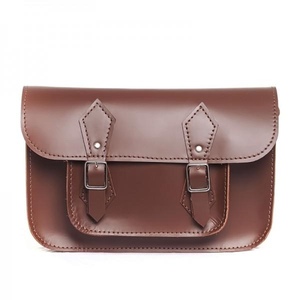 Портфель женский 11 коричневый