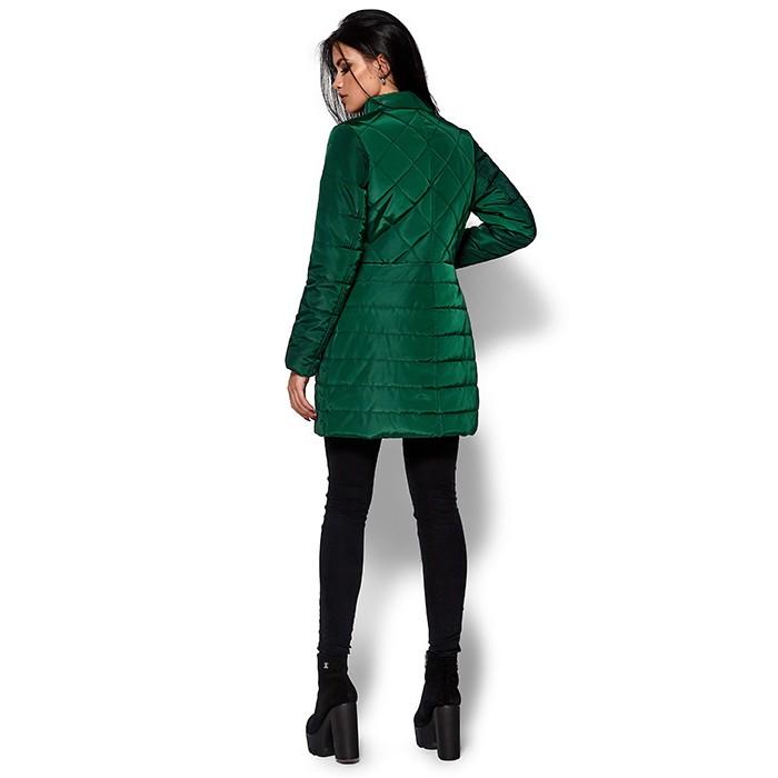 ... Жіноче пальто пуховик зелене ... 41edc1e5420a0
