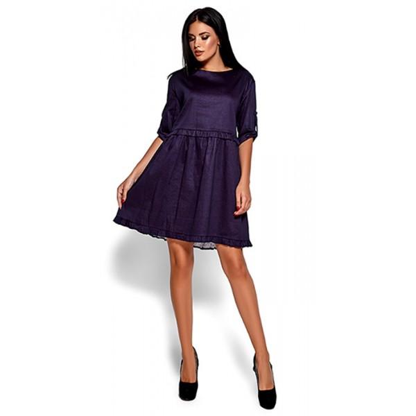 Платье ДТ темно-синее