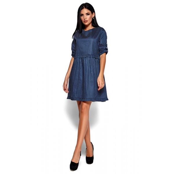 Платье ДТ синее