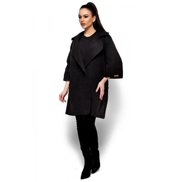Жіноче пальто кашемірове блек caab25908b90a