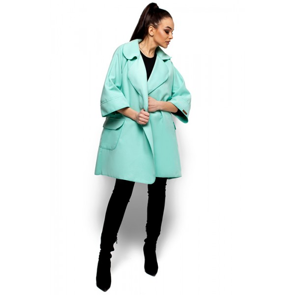 Жіноче пальто кашемірове м ята 3df9a11f51726