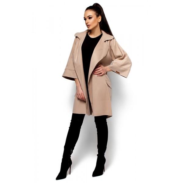 Жіноче пальто кашемірове беж a2e620fff9410