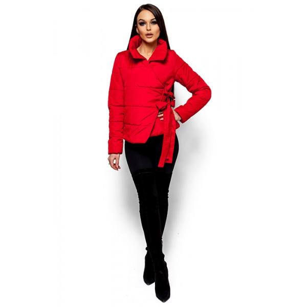 Женская куртка Флер красная