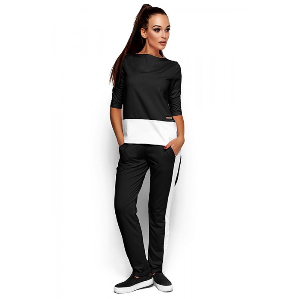 Спорткостюм женский темно-серый