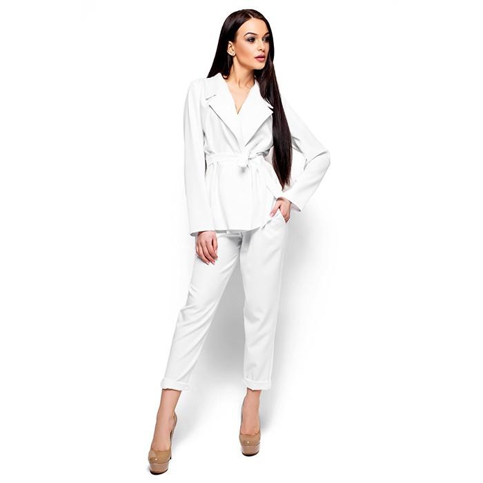 Брючний костюм білий 98d5b3b0dbc7e