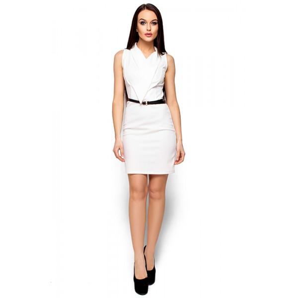 Платье с оригинальным вырезом wt