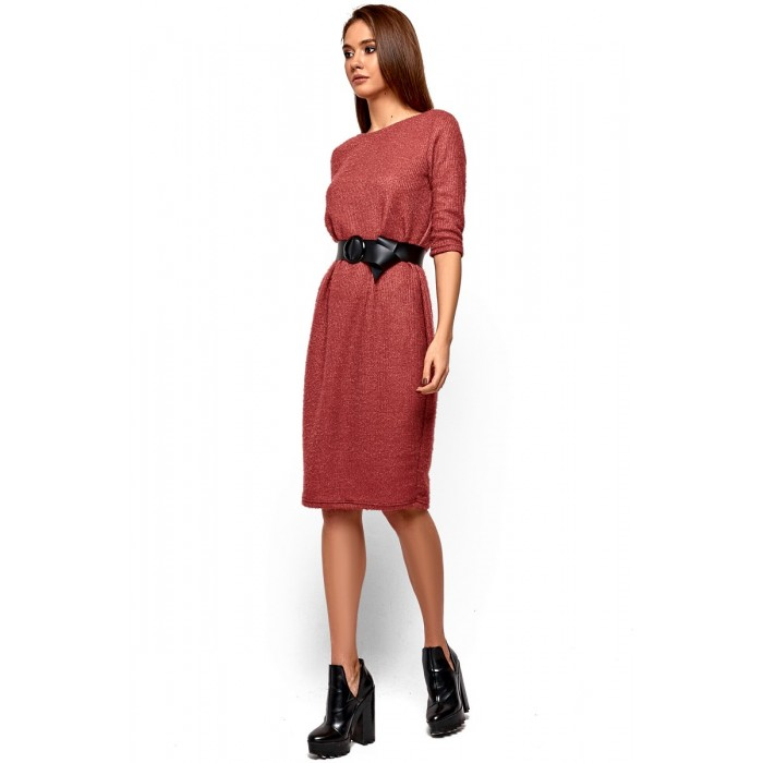 Сукня з ангори з вирізом на спині 18ba0498e4071