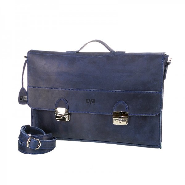 Мужской портфель синий