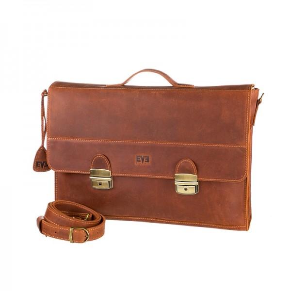 Мужской портфель рыжий