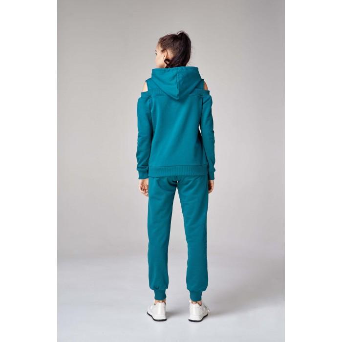 ... Жіночий спортивний костюм з капюшоном зелений 8a612e6acdd4e