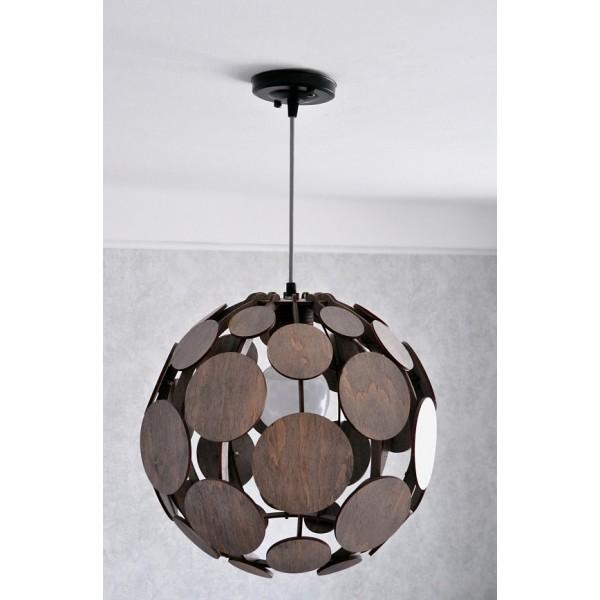 Светильник деревянный Big Space