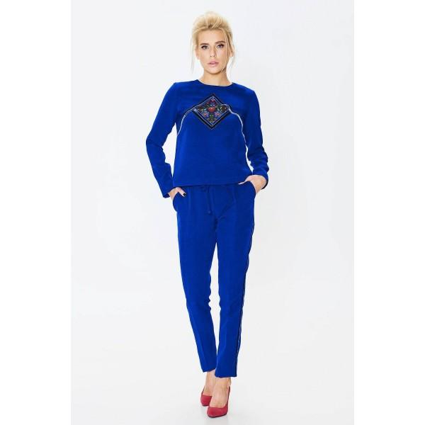 Sale Жіночий костюм синій 546ec2003a9ba