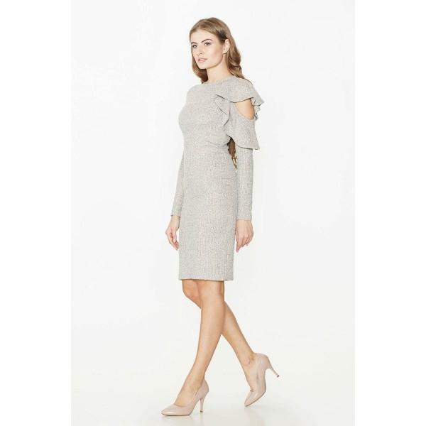 79ed058e0001cb Сукня з вирізами на рукавах