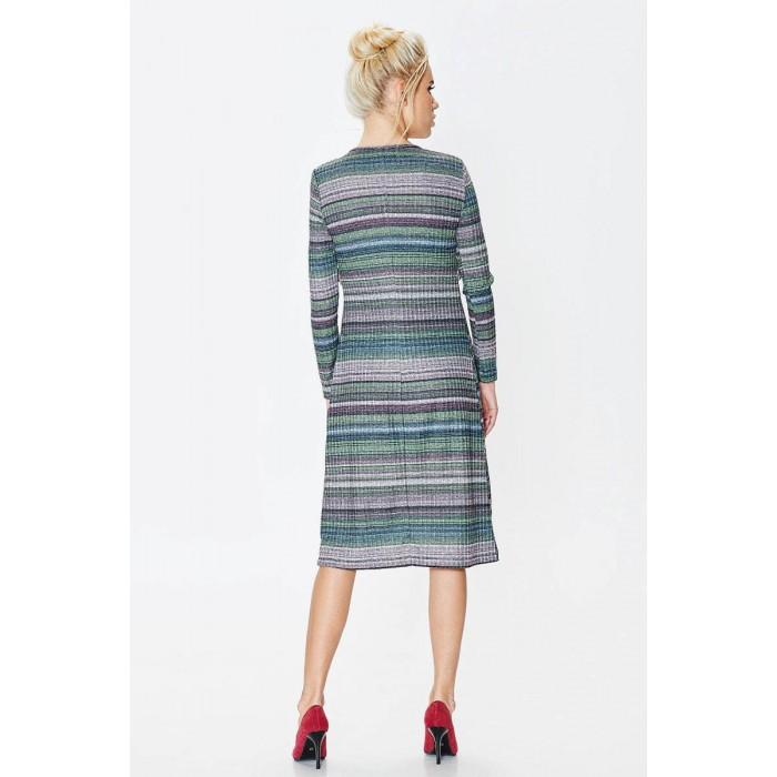42764f42240 Платье с люрексом и рюшем Платье с люрексом и рюшем ...