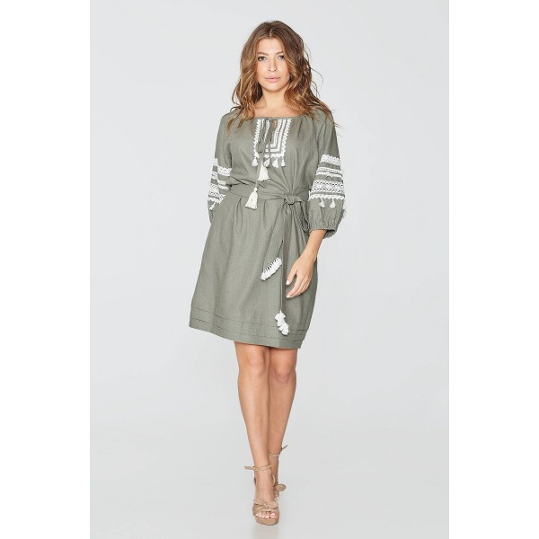 5934e701b60d06 Лляна літня сукня