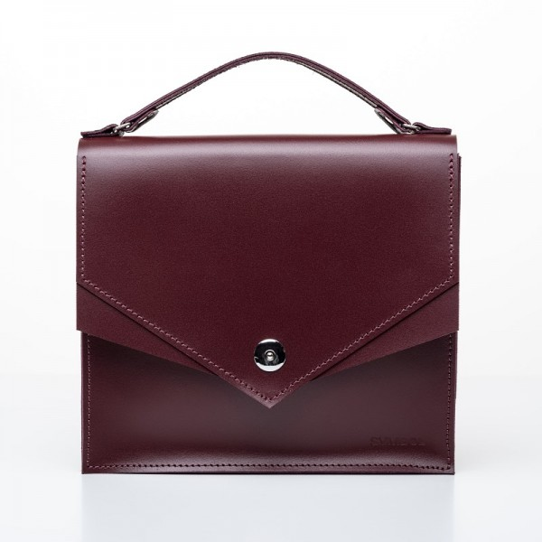 Satchel M Burgundy