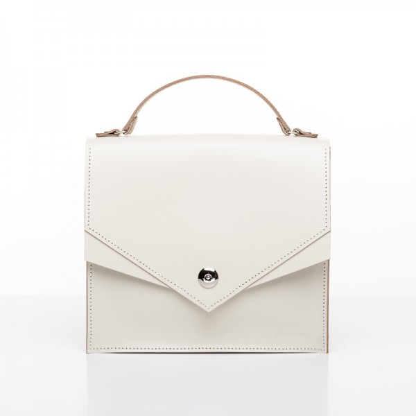 Satchel M Cream