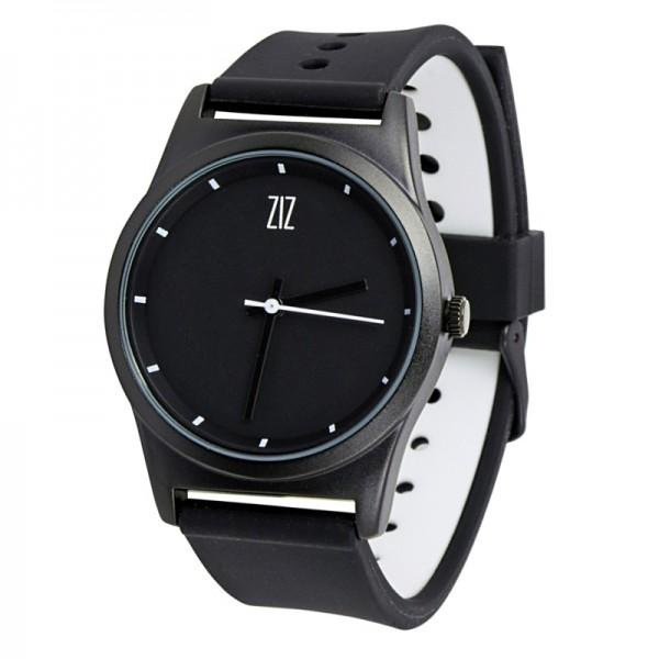 """Часы 6с """"Black"""" (черный soft - силиконовый ремешок)"""