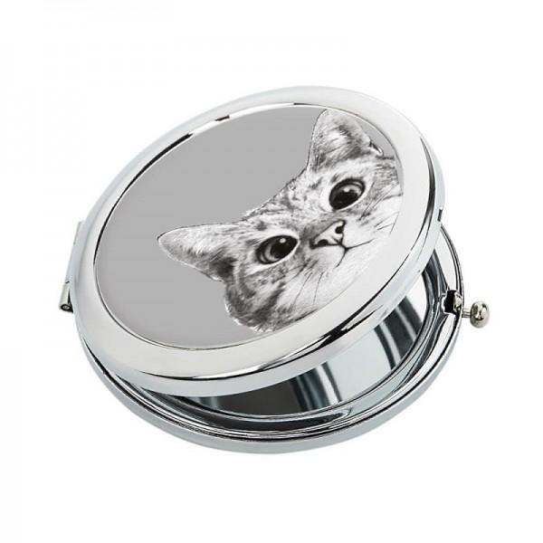 Косметическое зеркало Кот