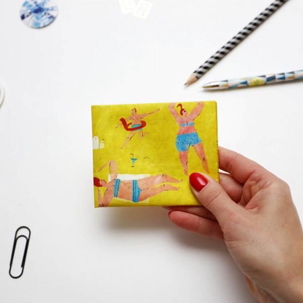 Кошелек Paper Ninja желтый