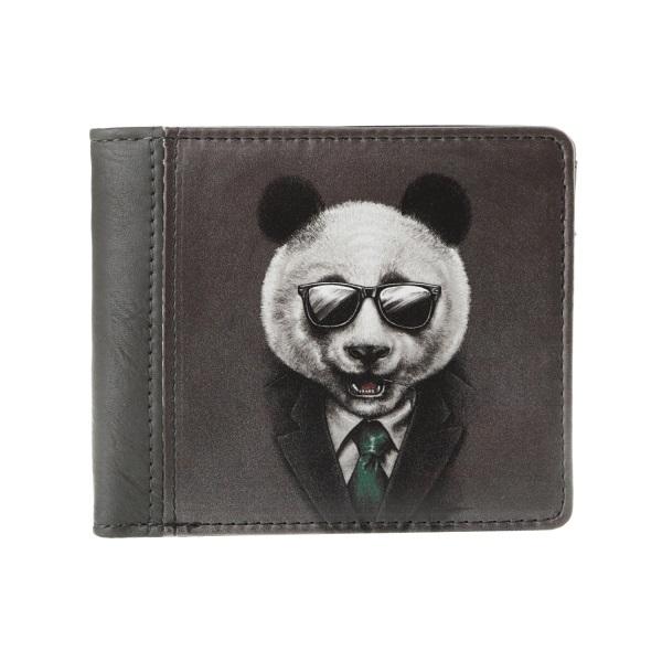 Компактный кошелек Панда